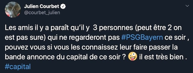 Cyril Hanouna (TPMP) lance une petite pique à Julien Courbet sur Twitter !