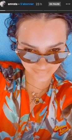 Emily Ratajkowski ses lunettes écaille font sensation sur Instagram 03082020-