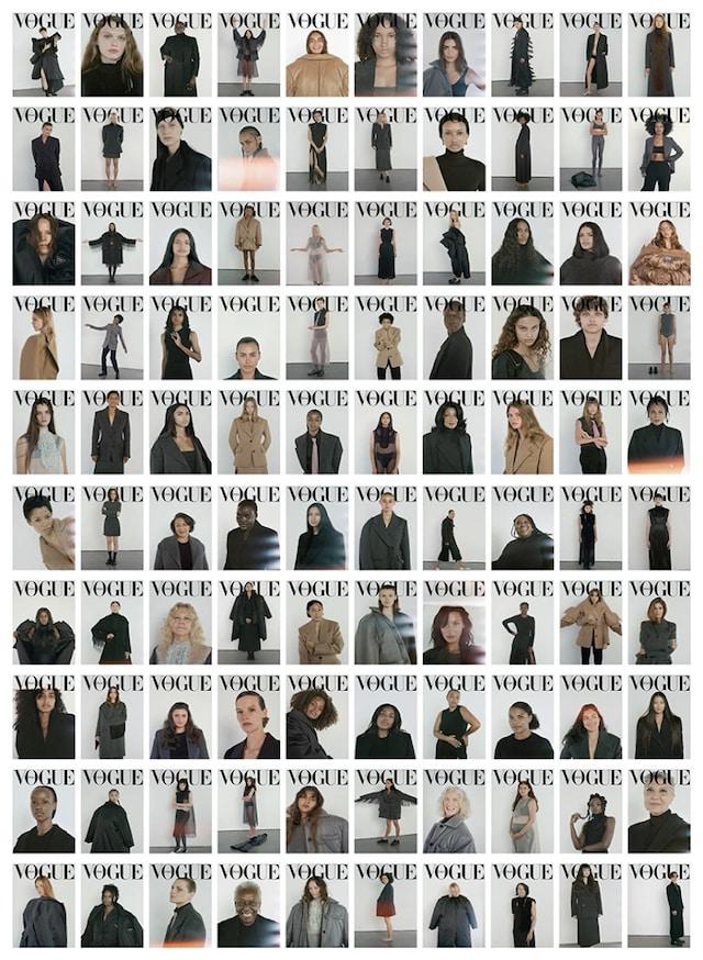 Emily Ratajkowski très classe pour le magazine Vogue sur Instagram !