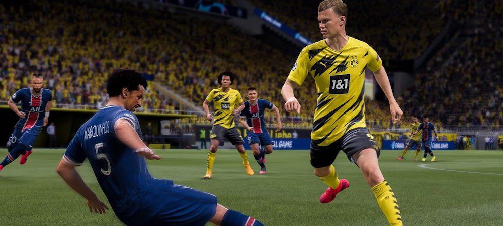 FIFA 21: le jeu EA Sports et le gameplay se font ridiculiser sur Twitter !