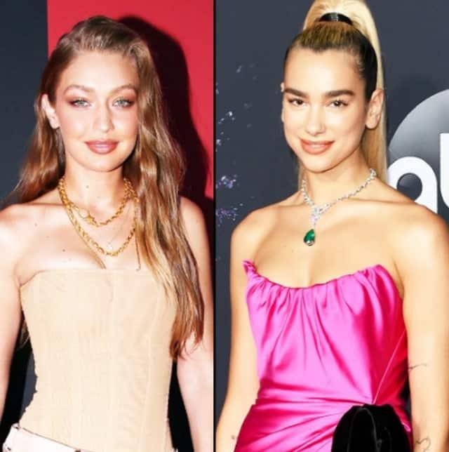 """Gigi Hadid célèbre les 25 ans de sa """"soeur"""" Dua Lipa !"""