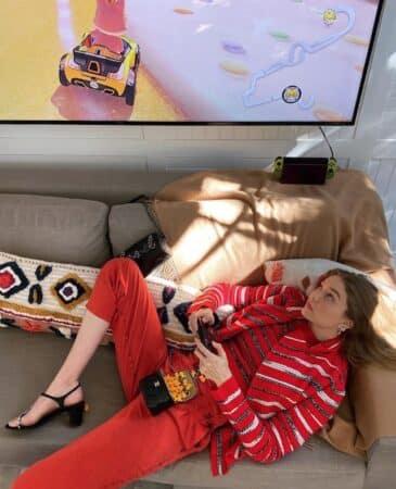 Gigi Hadid donne un aperçu de son appartement de luxe à New York 640