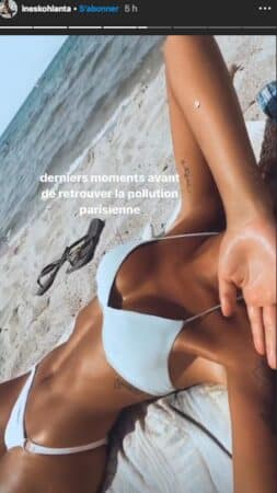Inès (Koh-Lanta) s'affiche en bikini blanc à la plage et fait grimper la température !