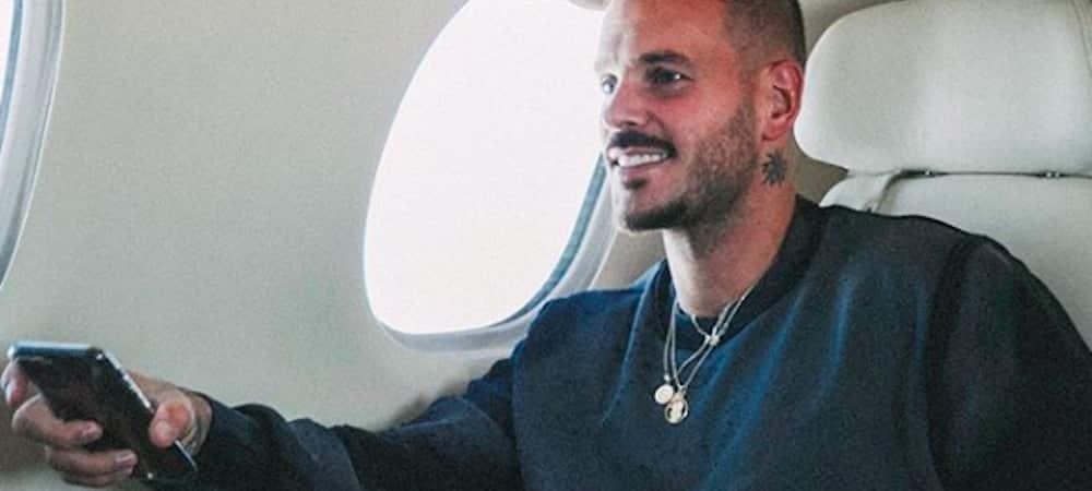 Instagram: M Pokora toujours aussi fan de l'Olympique de Marseille !