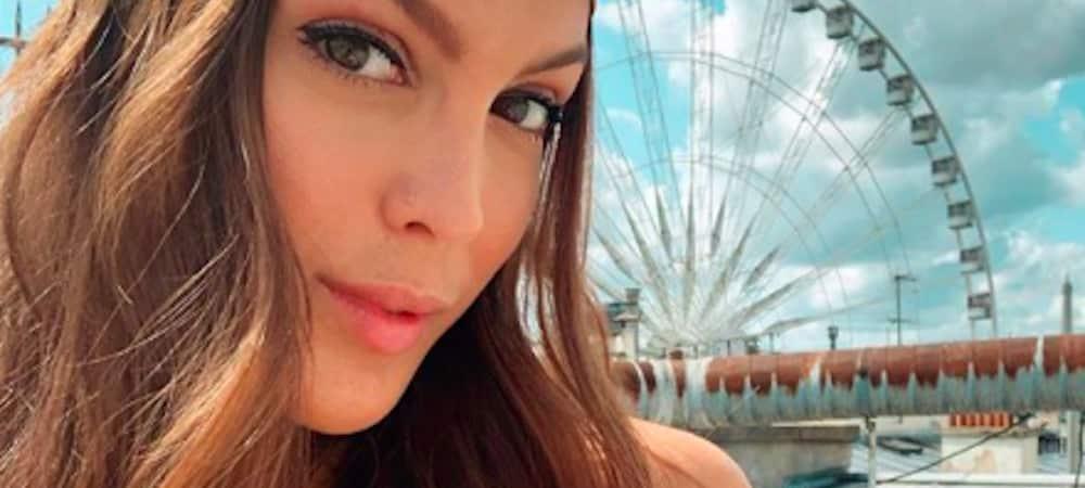 Iris Mittenaere profite d'un hotel très luxueux à Paris !