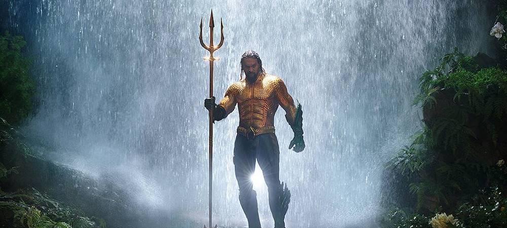 Jason Momoa a cassé son trident d'Aquaman pour la bonne cause !