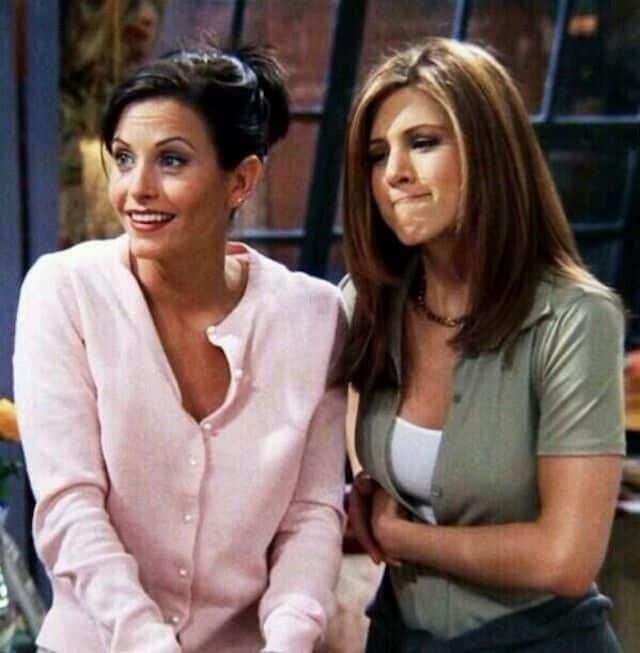 Jennifer Aniston trahie par Courtney Cox à cause de Justin Theroux ?