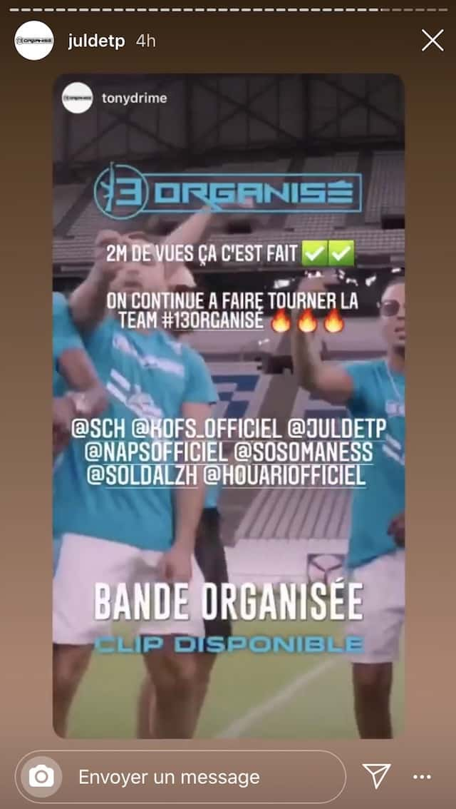 JuL éclate les 2 millions de vues en 24 heures avec le clip «Bande Organisée» !