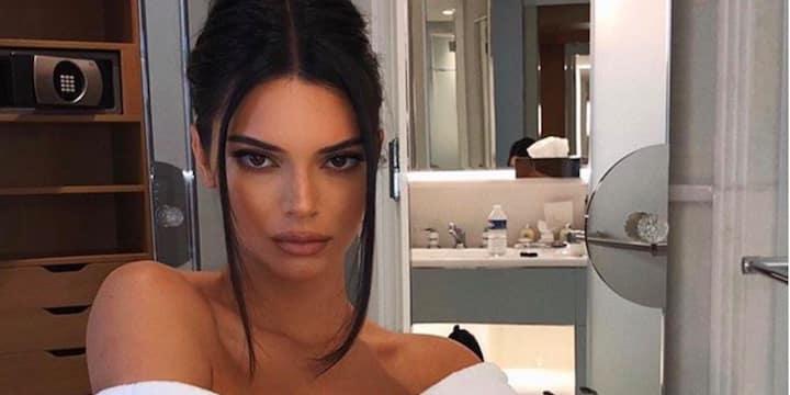 Kendall Jenner sa petite robe nude embrase la Toile 03082020