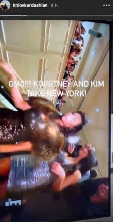 Khloé Kardashian très fière du succès de Kim et de Kourtney à la télé !
