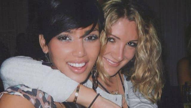 Kim Kardashian dévoile un beau portrait d'elle avec sa meilleure amie 640