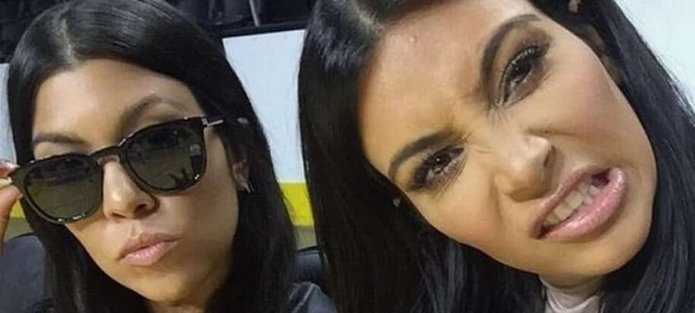 Kim Kardashian prend la pose avec toutes ses soeurs sur Instagram !