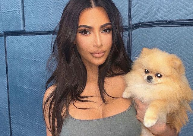 Kim Kardashian sexy en sous-vêtements sur Instagram !