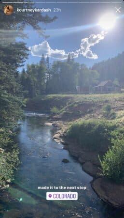 Kourtney Kardashian part en road-trip jusqu'au Colorado 640