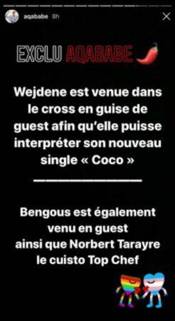 Les Marseillais- Aqababe donne les raisons de la venue de Wejdene 640