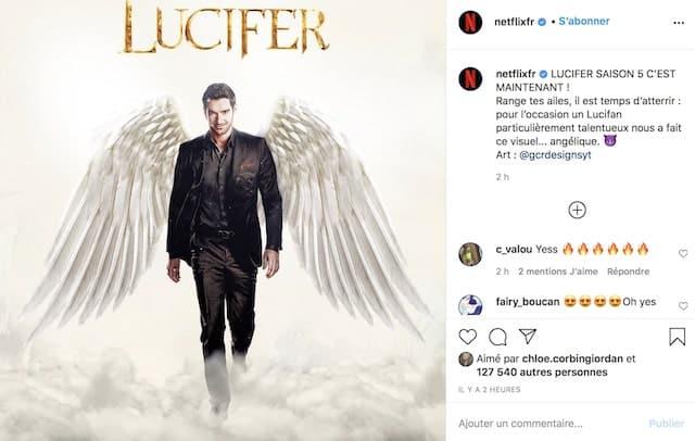 Lucifer saison 5: Netflix fête la sortie de la nouvelle saison avec un poster !