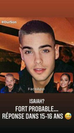 M Pokora imagine la tête d'Isaiah à 15 ans et c'est hilarant !