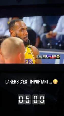 M Pokora: sa courte nuit pour regarder jouer les Lakers !