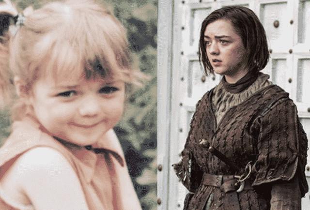 Maisie Williams: à quoi ressemblait-elle quand elle était enfant ?