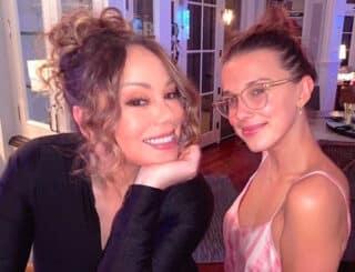 Millie Bobby Brown croise le chemin de Mariah Carey sur Instagram !