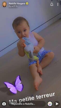 """Nabilla dévoile une adorable photo de sa """"petite terreur"""" !"""