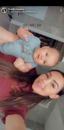 Nabilla dévoile une photo à croquer avec son fils Milann !