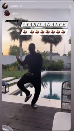 Nabilla- Gims se moque de la star et danse comme elle sur Instagram 640