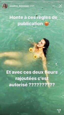 Pauline Bression (Plus belle la vie): sa photo seins nus censurée par Instagram !