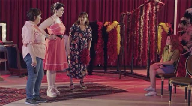 Plus belle la vie- un strip-tease burlesque arrive bientôt avec Fabienne Carat 640