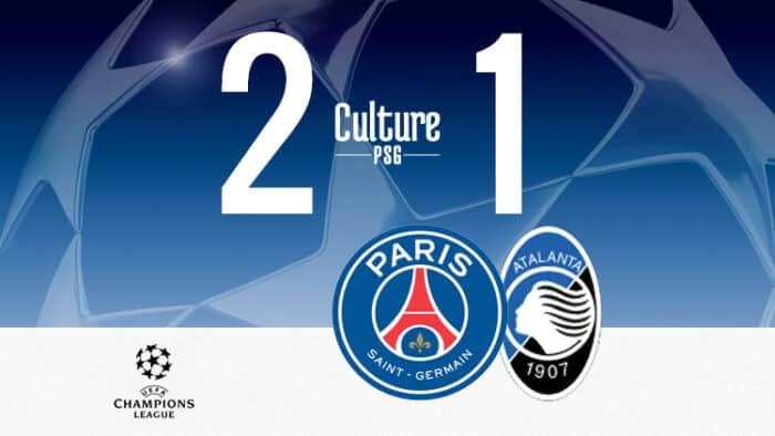 PSG: le club parisien renverse in extremis l'Atalanta !