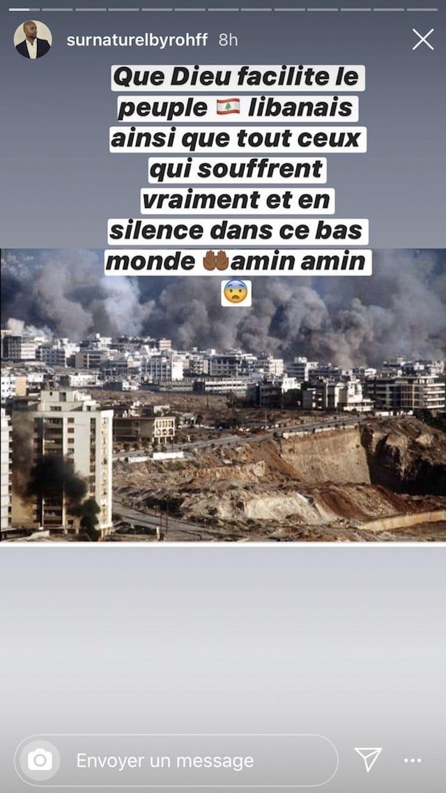 Rohff choqué par la double explosion à Beyrouth !