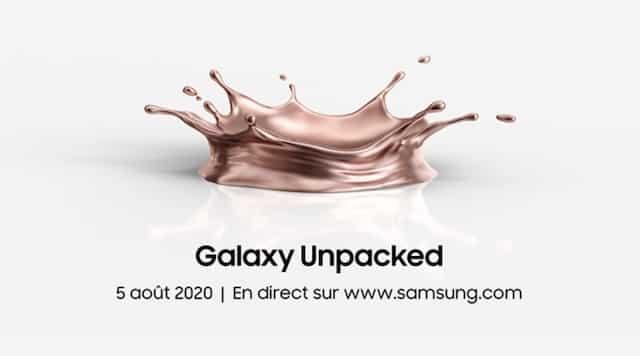 Samsung: à quoi s'attendre pour la conférence Galaxy Unpacked ?