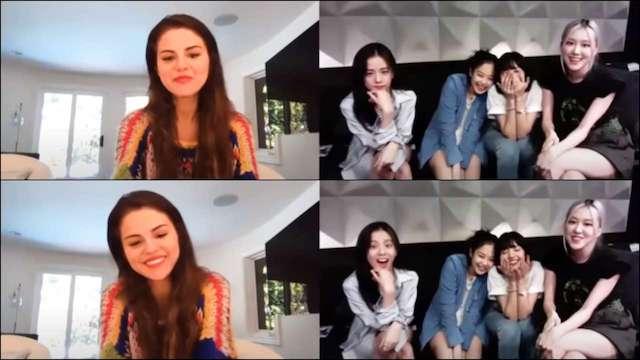 Selena Gomez reconnaissante d'avoir pu chanter avec BlackPink 640