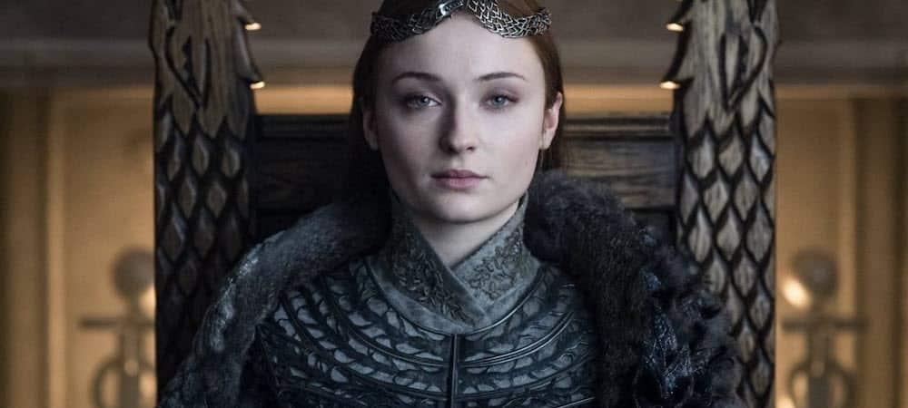 Sophie Turner détient l'un des trônes de la série Game of Thrones !