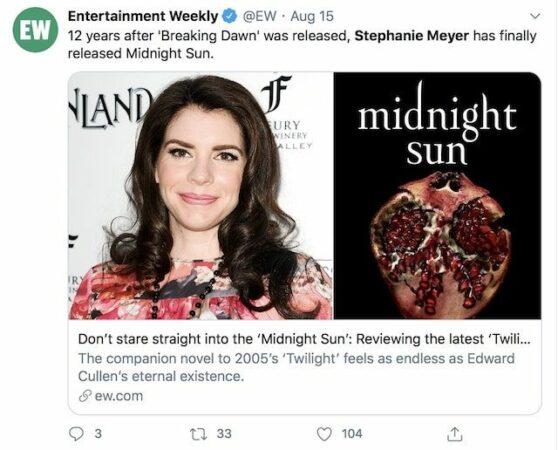 Twilight- Stephenie Meyer prévoit deux nouveaux livres sur la saga 640