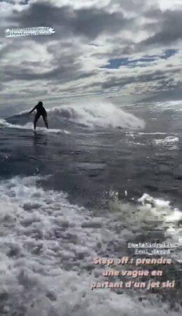 Vaimalama Chaves (Miss France) s'affiche en pleine séance de surf !