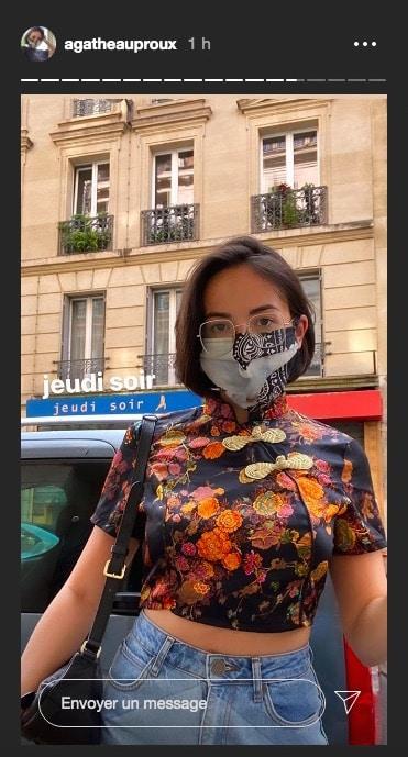 Agathe Auproux: son crop top aux inspirations asiatiques fait sensation !