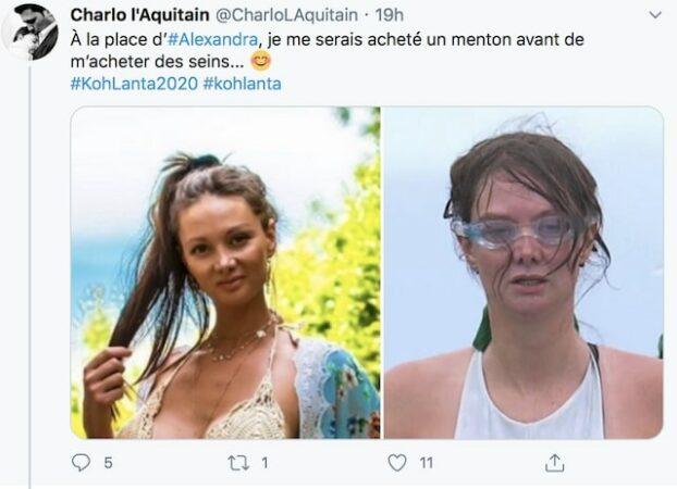 Alexandra (Koh-Lanta) victime de moqueries à cause de ses photos osées !