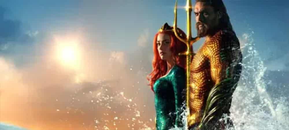 Aquaman 2 Mera et Arthur Curry (Jason Momoa) prêts à se marier_