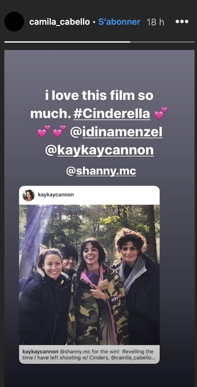 Camilla Cabello dévoile les coulisses du tournage de Cendrillon !