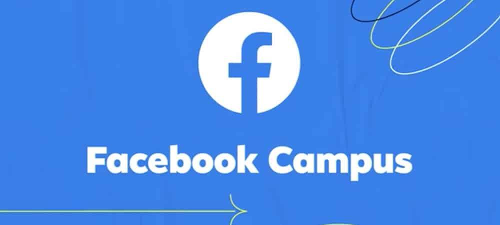 Campus Facebook lance un portail pour aider tous les étudiants