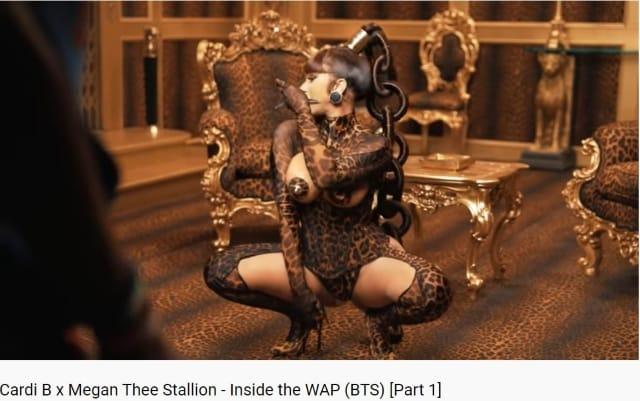 Cardi B dévoile les coulisses de son clip avec Megan Thee Stallion !