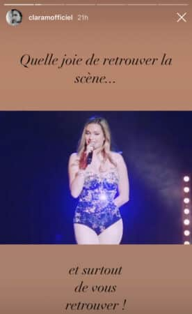 Clara Morgane annonce le retour de son cabaret sexy sur Instagram !