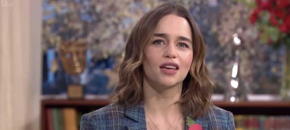 Emilia Clarke surprise en rendez-vous avec un célèbre acteur !