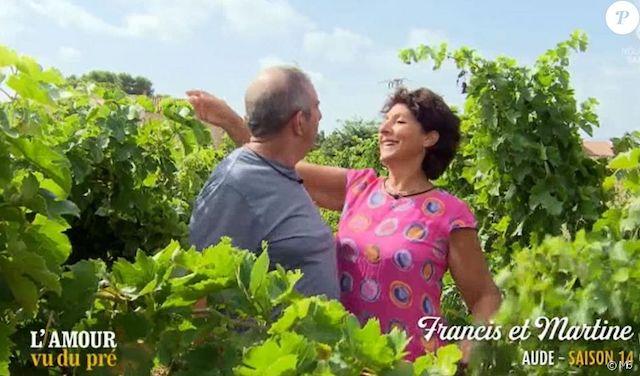 Francis (L'amour est dans le pré) présente sa compagne Martine !