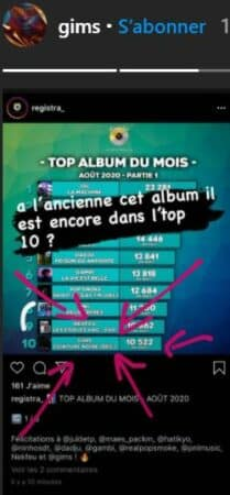 """Gims: son album """"Ceinture Noire"""" est toujours au top !"""