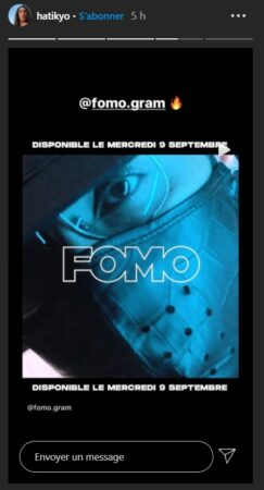 Hatik met en lumière le rappeur Fomo sur Instagram