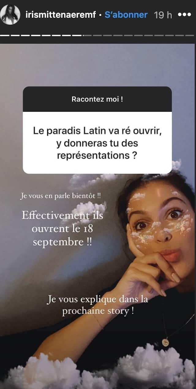 Iris Mittenaere fera bientôt son grand retour au Paradis Latin !