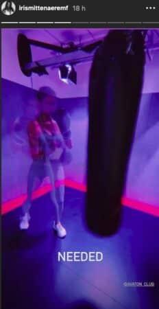 Iris Mittenaere se défoule et fait de la boxe après les messages haineux !