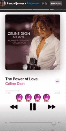 Kendall Jenner est une grande fan de Céline Dion 04092020-